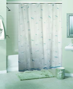 Штора для ванной комнаты Чайки Niklen