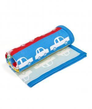 Одеяло  В дороге, цвет: синий Mothercare