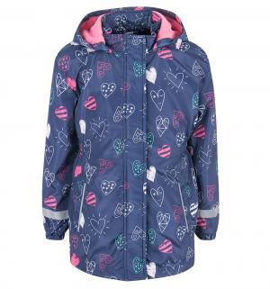 Ветровка , цвет: синий/розовый Bony Kids