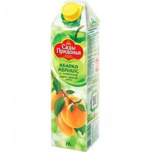 Сок  яблоко-абрикос, 1 л Сады Придонья