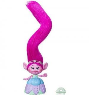 Игровой набор  Poppy с супер длинными поднимающимися волосами Trolls