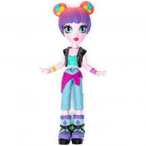 Кукла  «Стильная» Surprise Sorpresa Concert с фиолетовыми волосами, аксессуарами Off the Hook