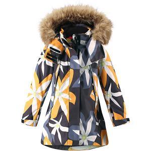Утеплённая куртка  Muhvi Reima. Цвет: черный