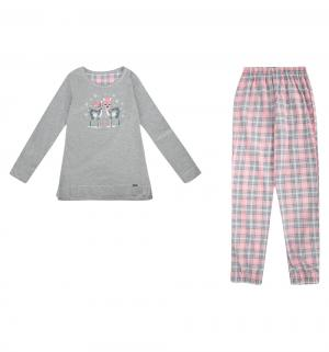 Пижама джемпер/брюки  Winter day, цвет: розовый Cornette