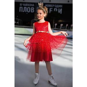 Нарядное платье Unona. Цвет: красный