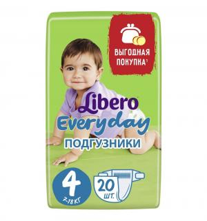 Подгузники  Every Day 4 (7-18 кг) 20 шт. Libero