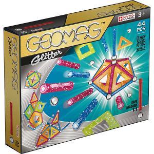 Магнитный конструктор Gitter, 44 детали Geomag. Цвет: светло-зеленый