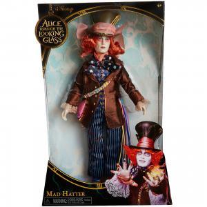 Коллекционная кукла Сумашедший Шляпник, Алиса в Зазеркалье Jakks Pacific