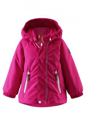 Куртка  Shed, цвет: розовый Reima