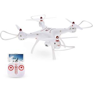 Квадрокоптер с WiFi камерой Syma X8SW-D, белый Zhorya. Цвет: белый