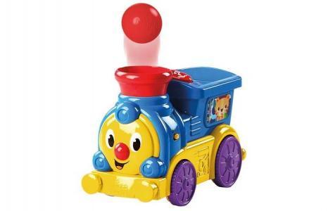Развивающая игрушка  Весёлый паровозик с мячиками Bright Starts