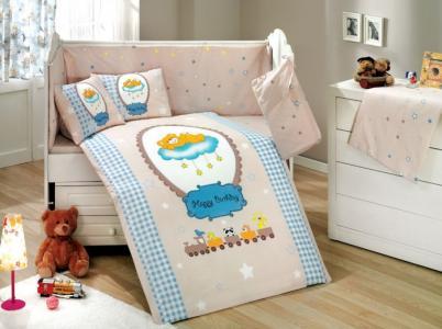 Комплект в кроватку  BamBam 100х150 см (10 предметов) Hobby Home Collection