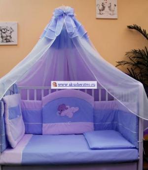 Комплект в кроватку  Мишутка (8 предметов) Балу