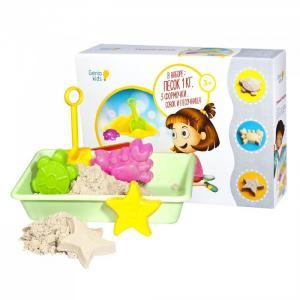 Набор для детского творчества Умный песок с песочницей Genio Kids