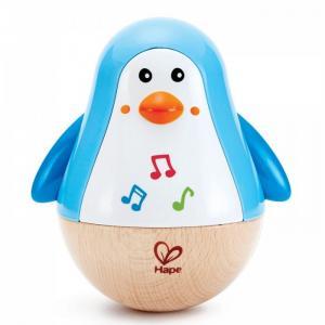 Развивающая игрушка  Неваляшка Пингвин музыкальный Hape