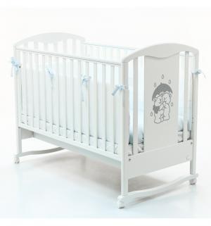Кровать-качалка  Tesoro, цвет: белый Bambolina