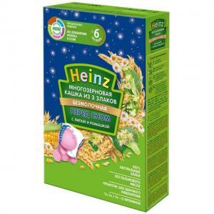 Каша  безмолочная 3 злака с липой и ромашкой 6 месяцев 200 г Heinz