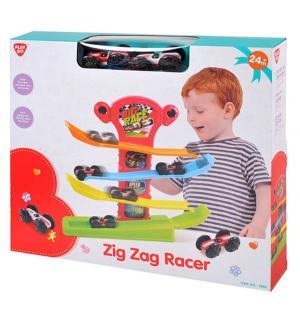 Развивающая игрушка  Трек с машинками Playgo