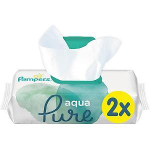 Детские влажные салфетки  Aqua Pure, 2 х 48 шт Pampers