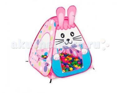 Дом-палатка + 100 шаров Кролик Calida