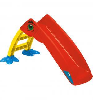 Горка  Пеликан 607, цвет:red/yellow/green Palplay