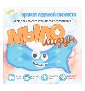 Набор для опытов  Юный химик Мыло-лизун Ледяная свежесть Инновации детей