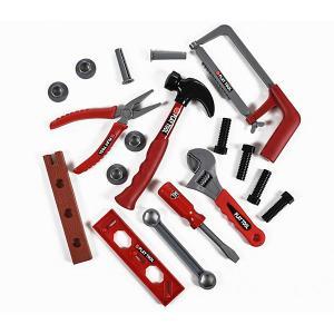 Набор инструментов  Toys 17 предметов, в чемоданчике Yako. Цвет: белый