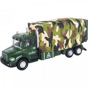 Машинка Military Truck с тентом 1:48, Autotime