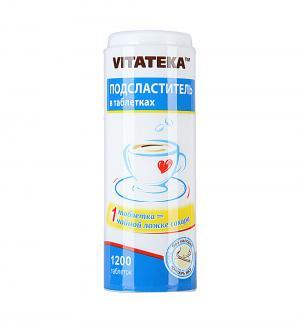 Подсластитель  в таблетках, 1200 табл Vitateka
