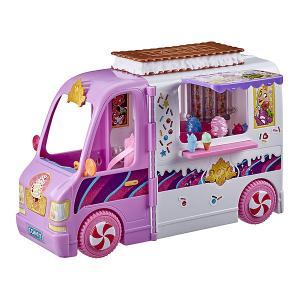 Игровой набор Disney Princess Comfy Squad Фургон Hasbro. Цвет: розовый/белый
