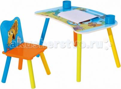 Набор детской мебели стол и стул Genius Sweet Baby