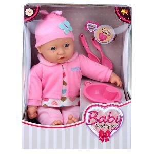 Кукла ABtoys Baby boutique, 40 см, с посудой Dimian