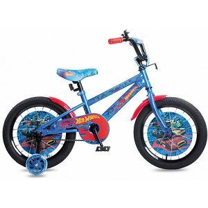 Двухколесный велосипед  Hot Wheels 16 Navigator. Цвет: разноцветный