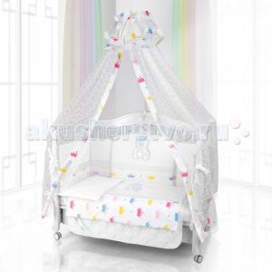 Комплект в кроватку  Unico Orso Cuando 125х65 (6 предметов) Beatrice Bambini