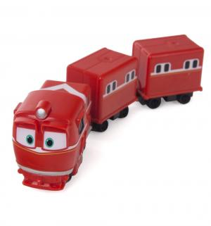 Паровозик  Альф с двумя вагонами Robot Trains