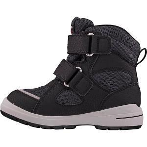 Утеплённые ботинки Viking. Цвет: черный