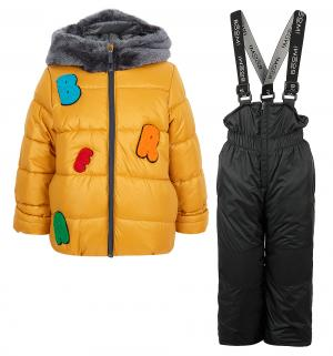 Комплект куртка/полукомбинезон , цвет: желтый Boom