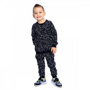 Комплект для мальчика (джемпер, брюки) Блюз Веселый малыш