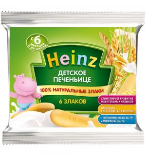 Печенье  Детское 6 злаков, 60 г, 1 шт Heinz
