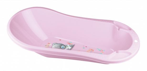 Ванна детская с клапаном для слива воды и аппликацией Me to You