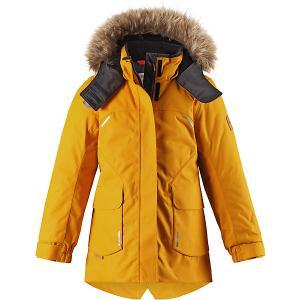 Утепленная куртка  Sisarus Reima. Цвет: золотой