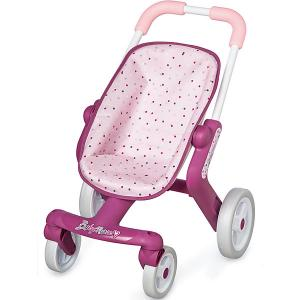 Коляска прогулочная для пупса  Baby Nurse Smoby. Цвет: фиолетово-розовый