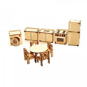 Деревянный набор мебели ХэппиДом Кухня Happykon