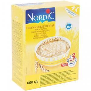Хлопья  пшеничные, 600 г, 1 шт Nordic