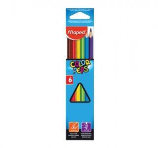 Карандаши цветные  Color Peps 6 цв. Maped