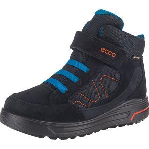 Утепленные ботинки ECCO. Цвет: синий
