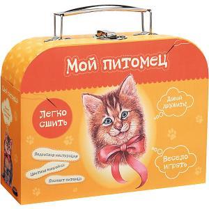 Набор для творчества Мой уютный домик Сшей игрушку Котенок Бумбарам. Цвет: разноцветный