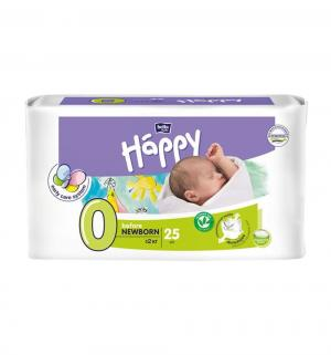 Подгузники  Newborn 0 (до 2 кг) 25 шт. Bella Baby Happy