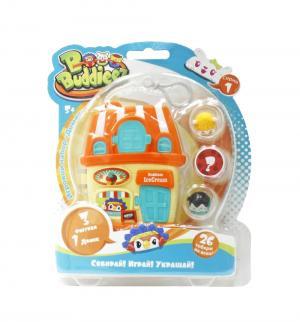 Игровой набор  Домик-шкатулка с 3-мя шармами 1Toy