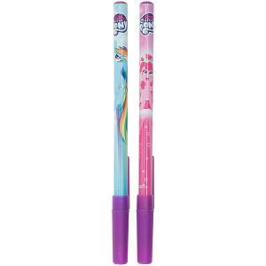 Ручка шариковая My Little Pony 2шт Академия групп. Цвет: разноцветный
